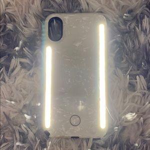 LUMEE iPhone X Marble Case
